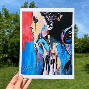 Aesthetic Art Print 8x11